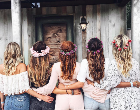 Flowercrown Hairinspo