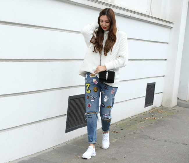 trend patches jeans