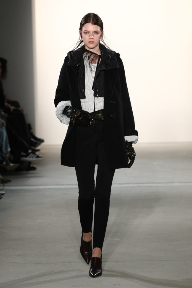 Klassisch in schwarz, Statement Sleeves, Fashion Week Berlin, Favoriten-Look von Dorothee Schumacher
